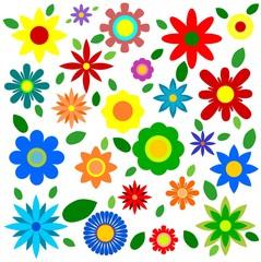 Spring Flowers - Illustration