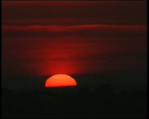 Timelapse sunrise