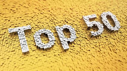 Pixelated Top 50