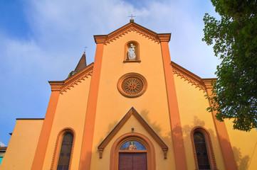 Church of St. Martino. Torrano. Emilia-Romagna. Italy.