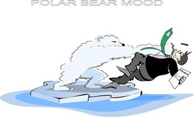 Polar bear mood