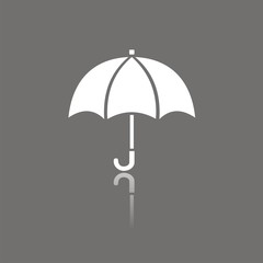 Icono paraguas FO reflejo