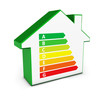 Home Icon Green Energy Levels