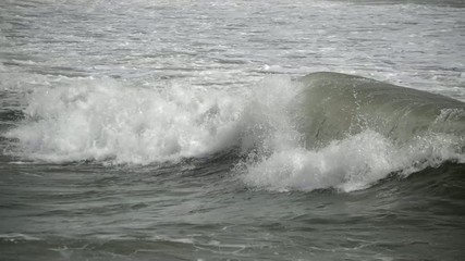 Wave In A Stormy Sea