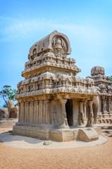 Five rathas complex in Mamallapuram