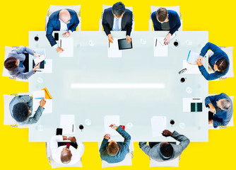Business People Corporate Working Office Team Concept