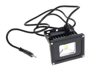 LED spotlight isolated on white