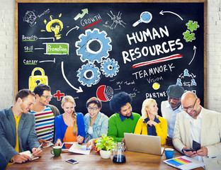 Human Resources Employment Teamwork Study Education Concept