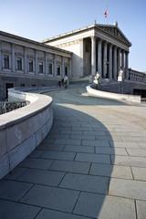 Wien, Parlaments-Gebäude