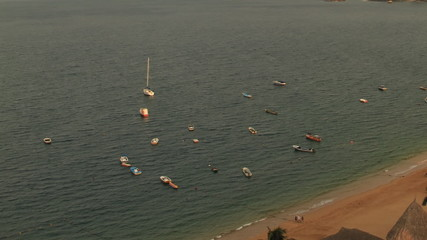 Acapulco Bay Time Lapse Boats