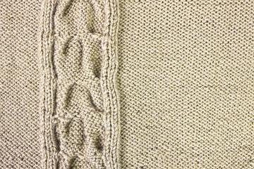 Brown wool drawing