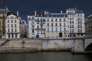 City houses in Paris