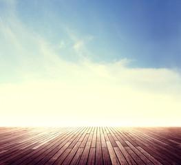 Summer Skyline Cloudscape Sunshine Outdoor Concept