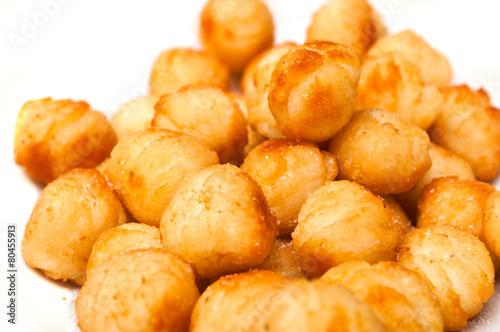Papiers peints Pain croquettes de pommes de terre