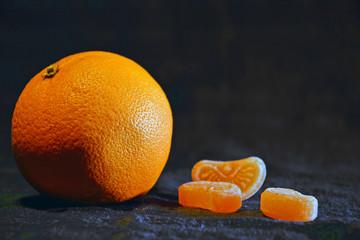 Arancia e caramelle