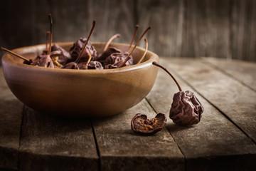 dried pears.