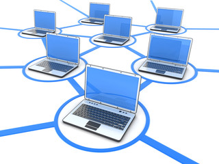 Network of laptops
