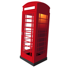 United Kingdom Telephone Booth