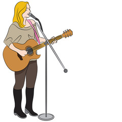 Female Country Western Singer