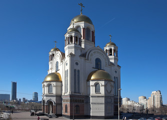 Храм Спаса-на-Крови. Екатеринбург