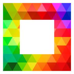 Square Color Palette Guide Spectrum Vector