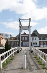 old town Veere in Holland