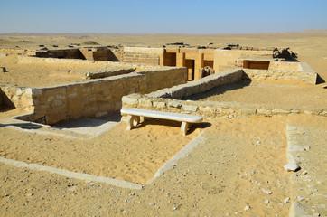 Archeological zone Saggara