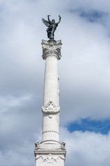 Column of the Girondins memorial in Bordeaux, Aquitaine, France