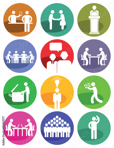 Business Icons - 80462177