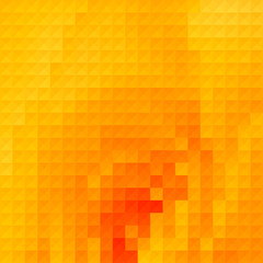 Pure yellow geometric background