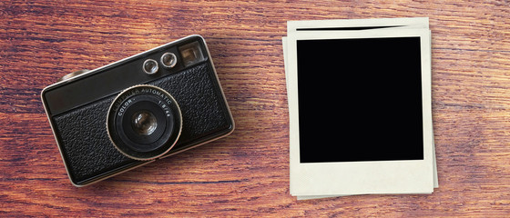 Fond photographie vintage - Bannière