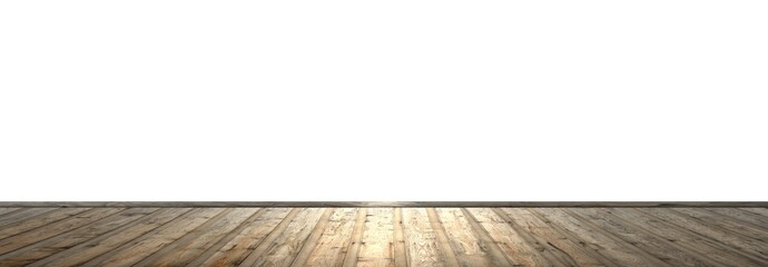 Leerer Raum mit Fußboden und freier Wandfläche