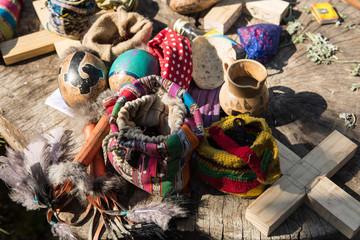 shamanic ritual objects in Guatemala