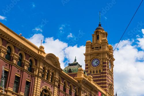 Poster Flinders Street Station, Melbourne, Australia