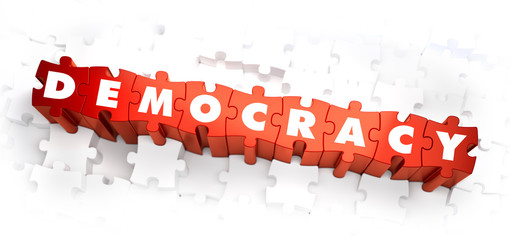 Democracy - Word on Red Puzzles.