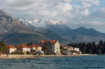 View of Tivat city. Montenegro