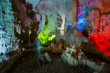 TienKung Cave at Halong Bay, Viet Nam