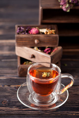 Herbal tea and dried herbs