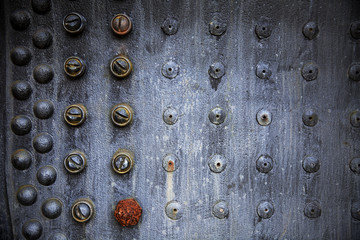 Rusting Rivet Pattern