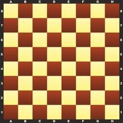 Chessboard bitmap illustration