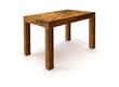 Leinwanddruck Bild - wooden table
