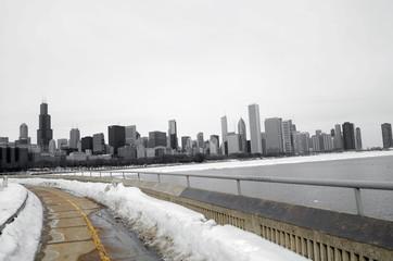 Radweg nach Chicago