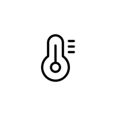 Thermometer - Trendy Thin Line Icon