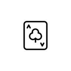 Club A - Trendy Thin Line Icon