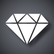 Vector diamond icon - 80476519