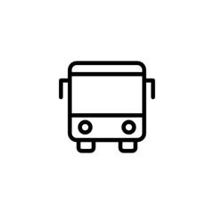 Bus - Trendy Thin Line Icon
