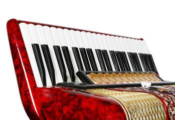 accordion, keyboards, fragment