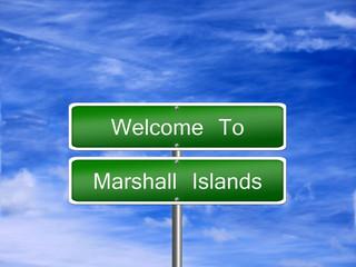 Marshall Islands Travel Sign