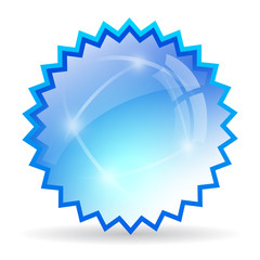 Glass starburst icon