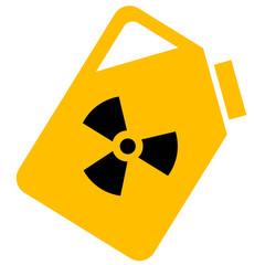 bidon radioactif
